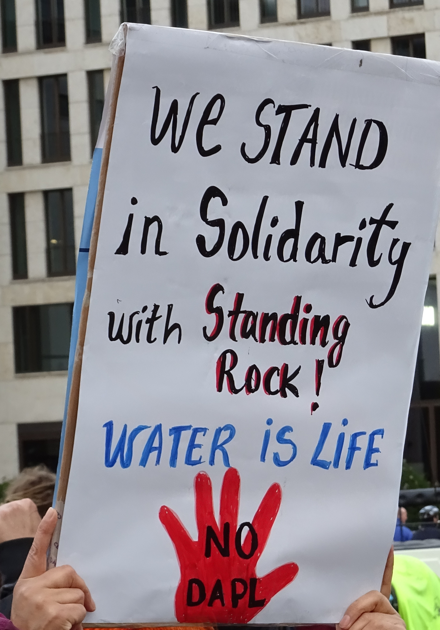 We stand with Standing Rock